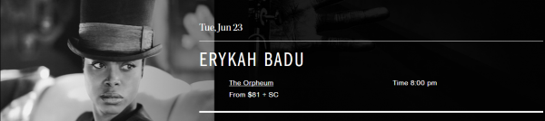 Erykah Badu   Coastal Jazz