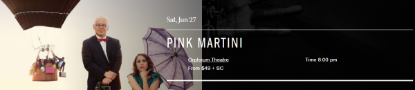 Pink Martini   Coastal Jazz