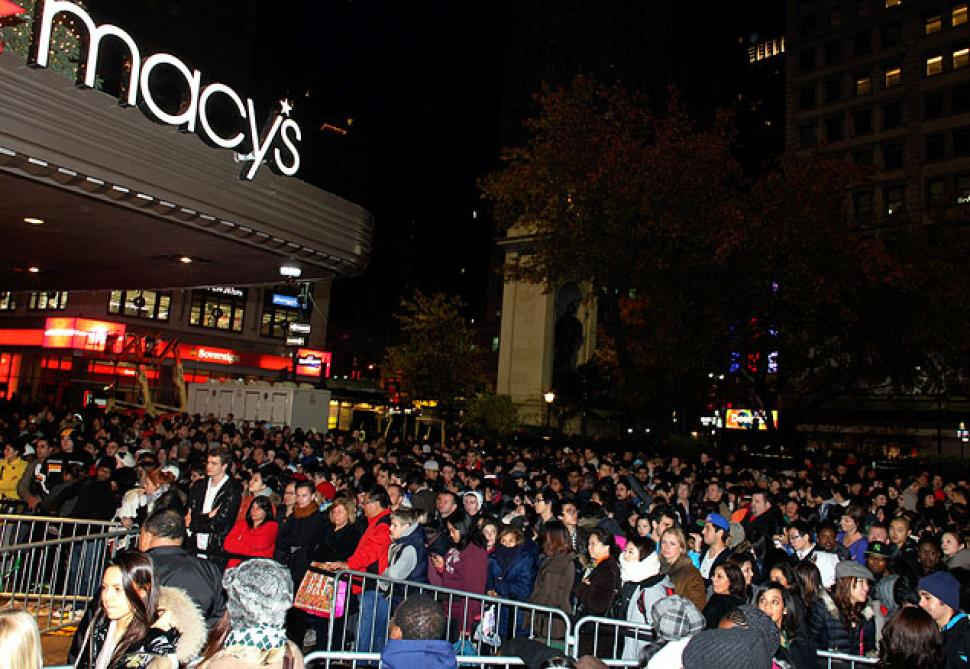 lineup Black Friday macys