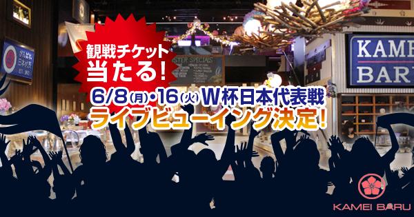 なでしこジャパン ワールドカップ  イベント  KAMEI BARU