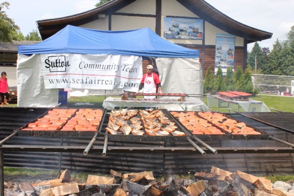 Steveston salmon fes-①