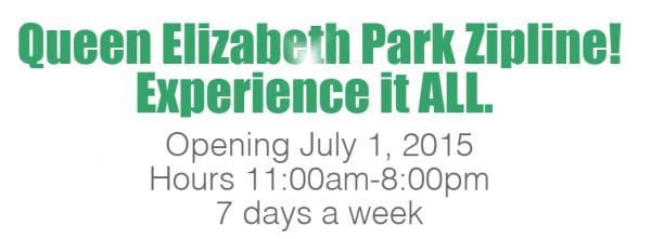 Queen Elizabeth Park Zipline