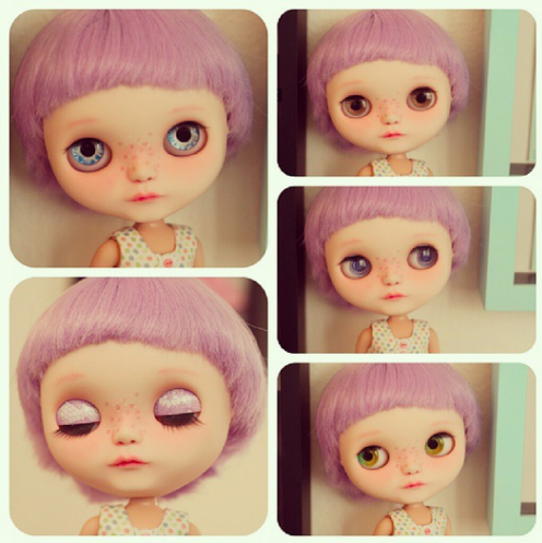 I m very happy to introduce my new  BlytheDoll. Her name is  KuKu  I freaking adore her.   Flickr   Photo Sharing