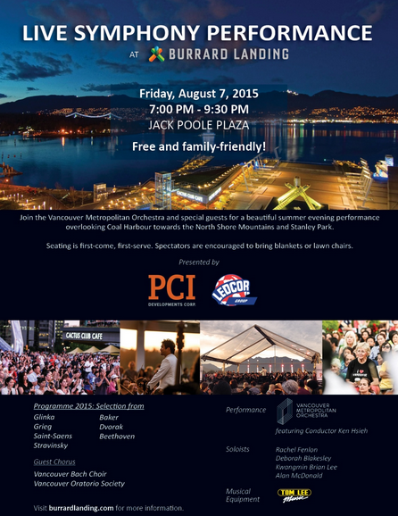 Plaza Events   News   Burrard Landing