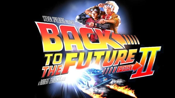 Back to the future2 タイトル