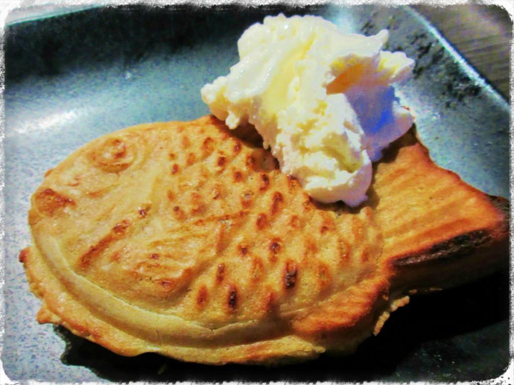 たい焼き&アイスクリーム $4.95