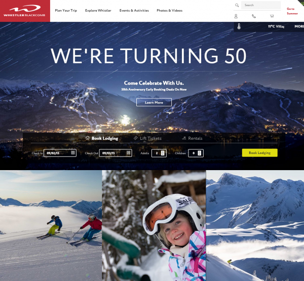 Official Ski Resort Website   Whistler  BC  Canada   Whistler Blackcomb