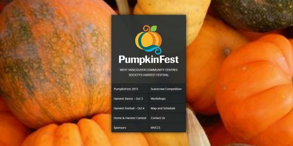 Pumpkin Fest   West Vancouver Community Centres Society's Harvest Festival