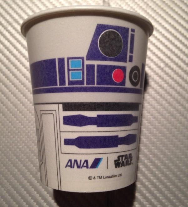 R2D2仕様の特別カップ