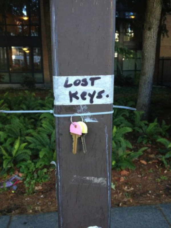 canadian lost key