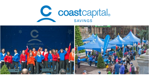 Coast Capital Savings Christmas Square   Rogers Santa Claus Parade