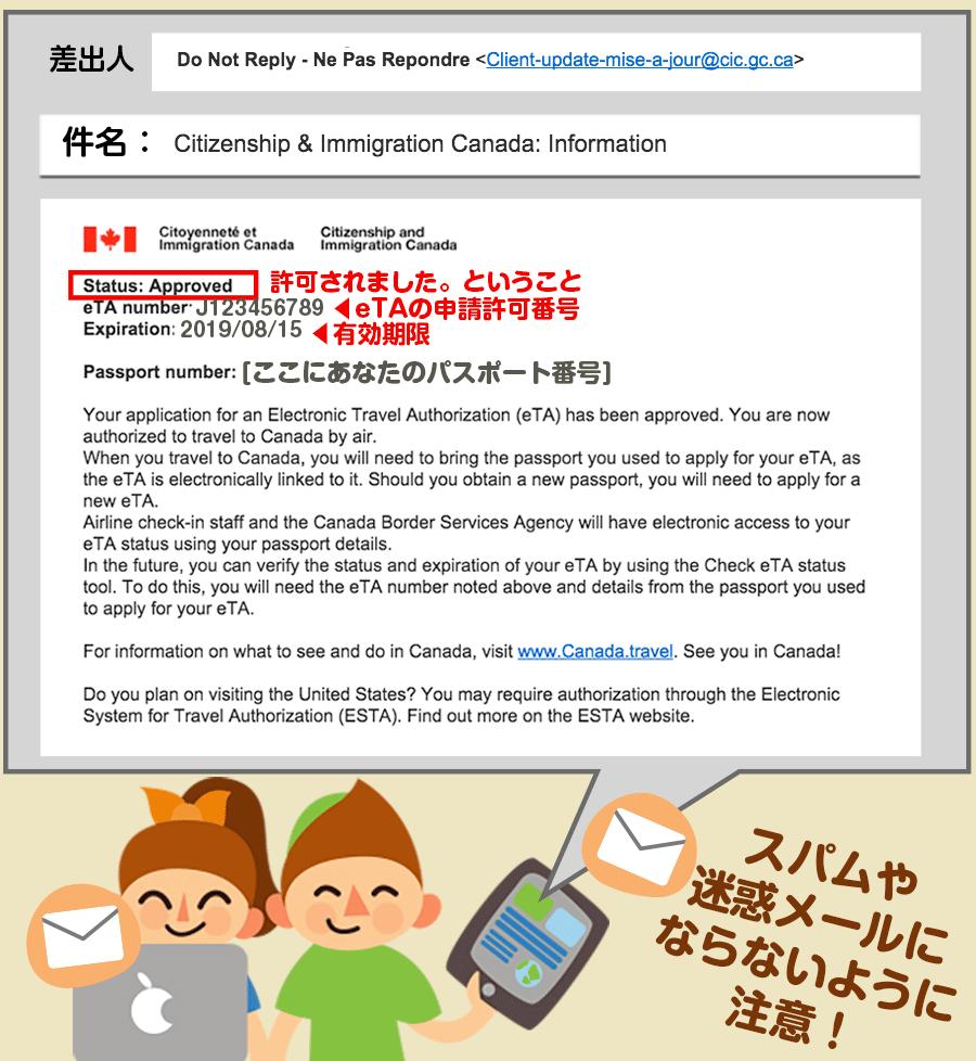 カナダeTA申請の仕方last