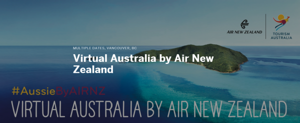Virtual Australia by Air New Zealand Tickets  Multiple Dates   Eventbrite2