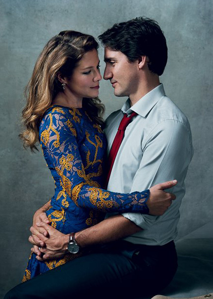 justin-trudeau-prime-minister-canada-wife-sophie-gregoire-trudeau