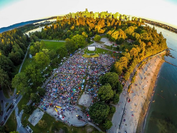 Free Outdoor Movies Vancouver 2017 at Stanley Park @ stanley park | Vancouver | British Columbia | カナダ