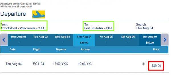 Newleaf Reservations Site   Select Flight