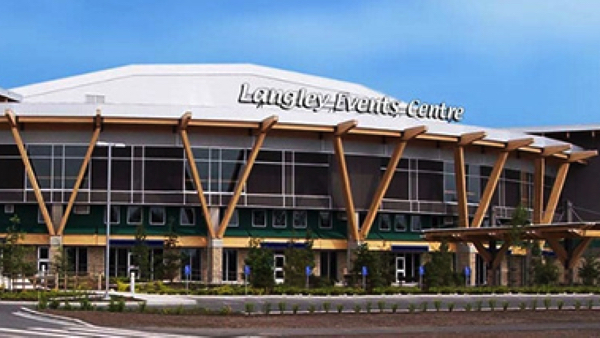 lngley events centre 外観
