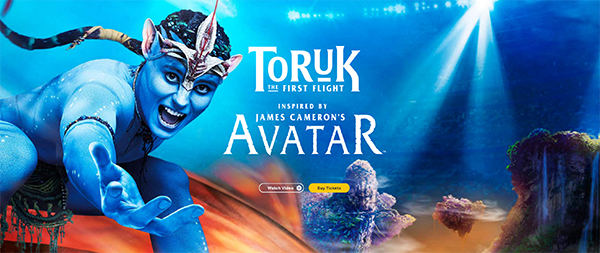 Cirque du Soleil  TORUK - The First Flight @ Pacific Coliseum  | Vancouver | British Columbia | カナダ