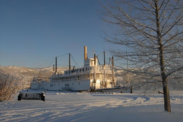 SS Klondike, winter