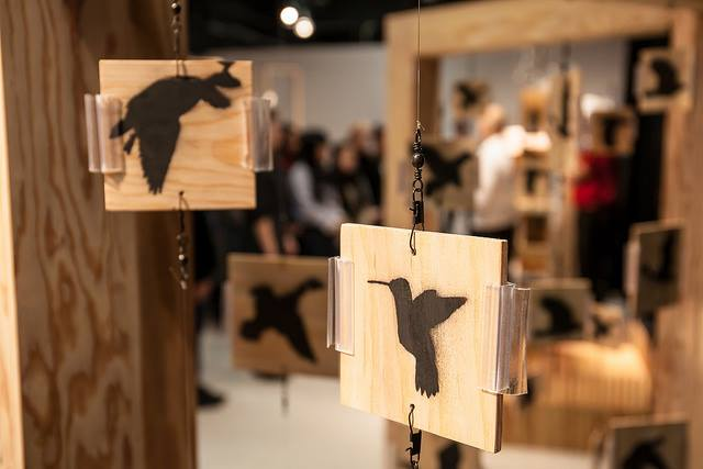 Birds in the 604 Exhibition @ Roundhouse Community Arts & Recreation Centre | Vancouver | British Columbia | カナダ