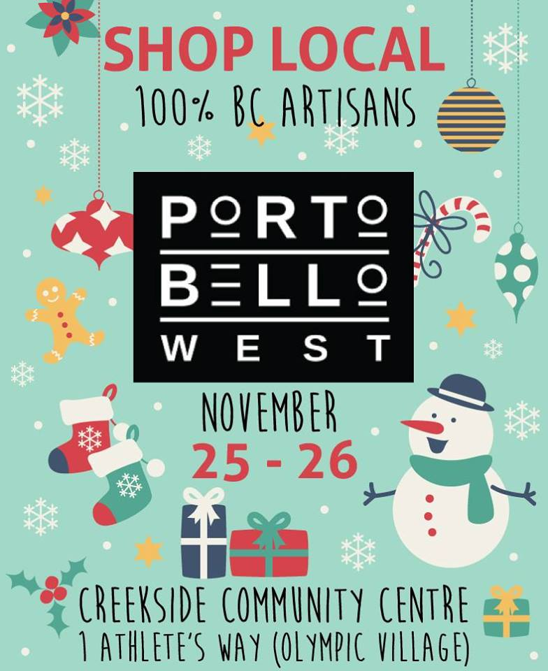 Portobello West Holiday Market @ Creekside Community Recreation Centre | Vancouver | British Columbia | カナダ