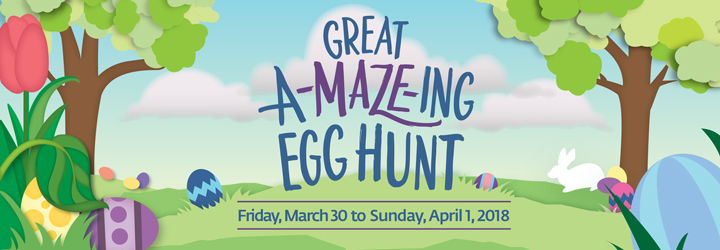 VanDusen Great A-Maze-ing Egg Hunt 2018 @ VanDusen Botanical Garden | Vancouver | British Columbia | カナダ