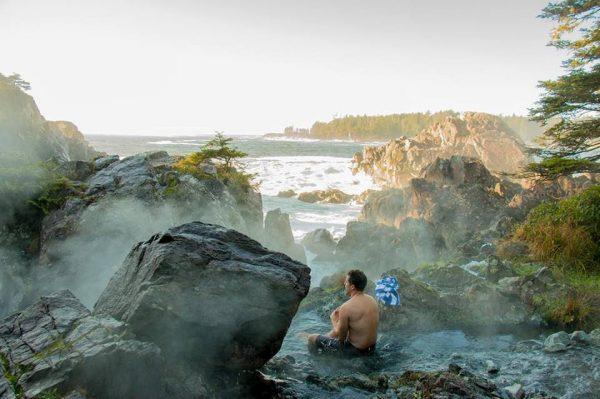 トフィーノの温泉