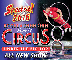 ロイヤル・カナディアンファミリー・サーカス(Royal Canadian Family Circus) @ Lansdowne Centre | Richmond | British Columbia | カナダ