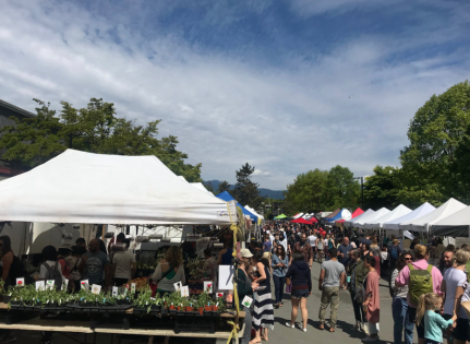 マウント・プリーザントファーマーズマーケット(Mount Pleasant Farmers Market) @ Dude Chilling Park | Vancouver | British Columbia | カナダ