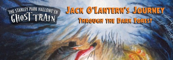 ゴーストトレイン(Jack O' Lantern's journey through the Dark Forest) @ Stanley Park