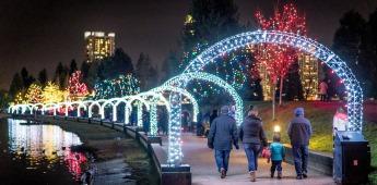 ライツ・アット・ラファージュ(Lights at Lafarge)2018 @ Lafarge Lake, Town Centre Park | コキットラム | ブリティッシュコロンビア州 | カナダ