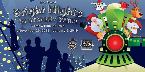 ブライト・ナイツ(Bright Nights Christmas Train in Stanley Park)2018 @ Stanley Park