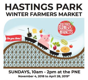 ファーマーズマーケット(Hastings Park Farmers Market) 2019 @ PNE Fairgrounds | Vancouver | British Columbia | カナダ