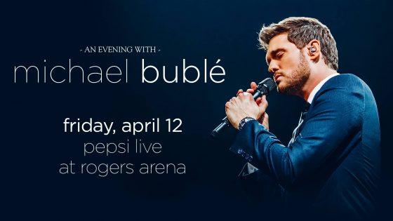マイケルブーブレ・コンサート(An Evening With Michael Bublé) 2019 @ Rogers Arena