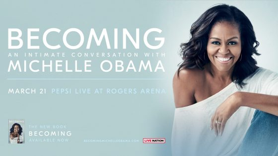 Becoming: An Intimate Conversation with Michelle Obama @ Rogers Arena