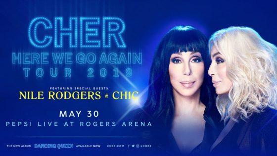 シェール・コンサート(Cher: Here We Go Again Tour)2019 @ Rogers Arena