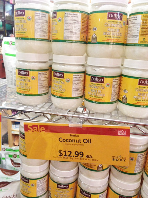 coconut oil sale