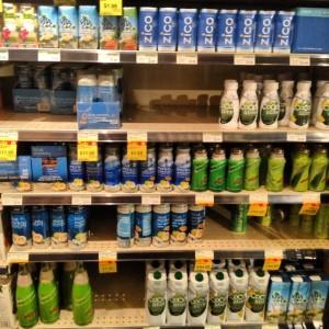 Whole Foodsにはこんな多くの種類が売っています。IGAやSafewayでも売っています。