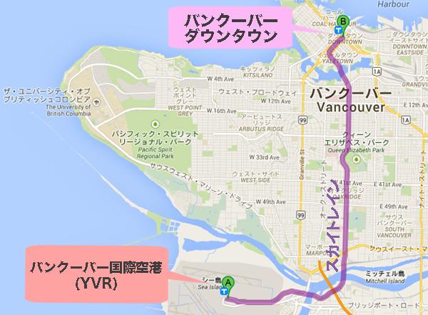skytrain map