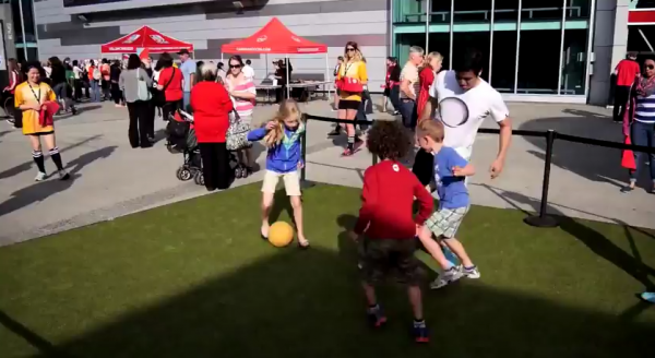 Celebrate soccer at the FREE City of Vancouver Fan Zone    YouTube4