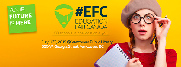 2015 Education Fair Canada in Vancouver