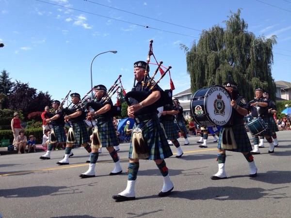 Steveston Canada dayパレード