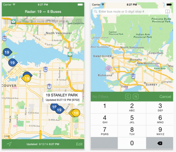Radar for Metro Vancouver Buses on the App Store on iTunes