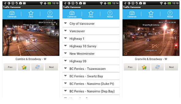 Traffic Cam Vancouver FREE   Google Play の Android アプリ1