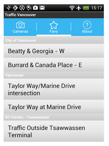 Traffic Cam Vancouver FREE   Google Play の Android アプリ2