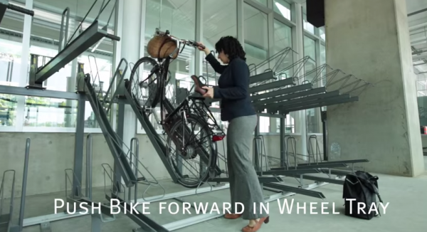 Secure Bike Parking at Main Street  Science World Station   YouTube5