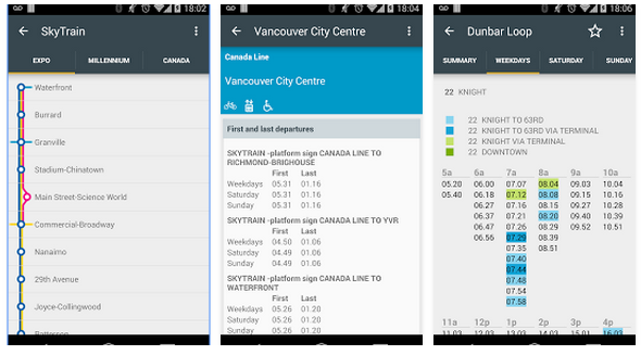 TransitDB Vancouver   Google Play の Android アプリ4