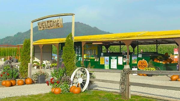 Chilliwack corn farm 外観