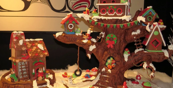 SOS Children s Gingerbread Village at The Peak of Christmas   SOS Children s Village BC
