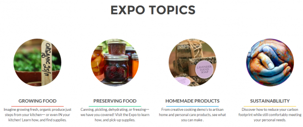 Homesteading Expo   Your guide to self sufficient living in the heart of the city1
